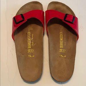 BirkenStock Sandals size 38- 7-7 1/2